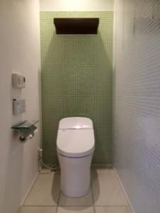 水工房のトイレ