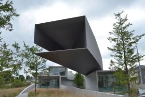 千葉県にあるホキ美術館(設計=日建設計)