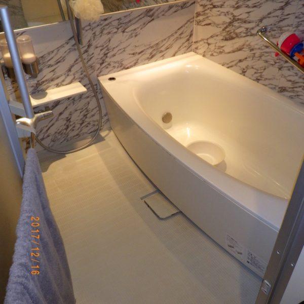 ゴージャスな浴室に生まれ変わりました