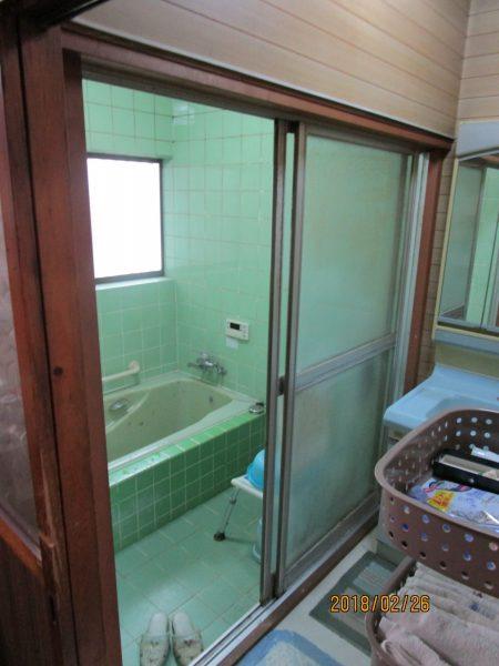戸建の浴室工事