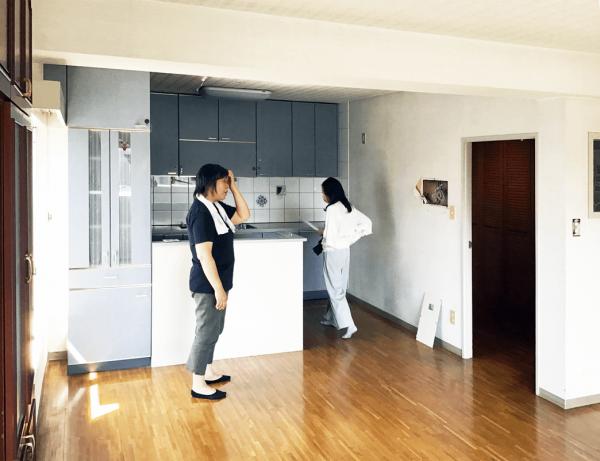 北区F様邸のリフォーム工程見学(1)