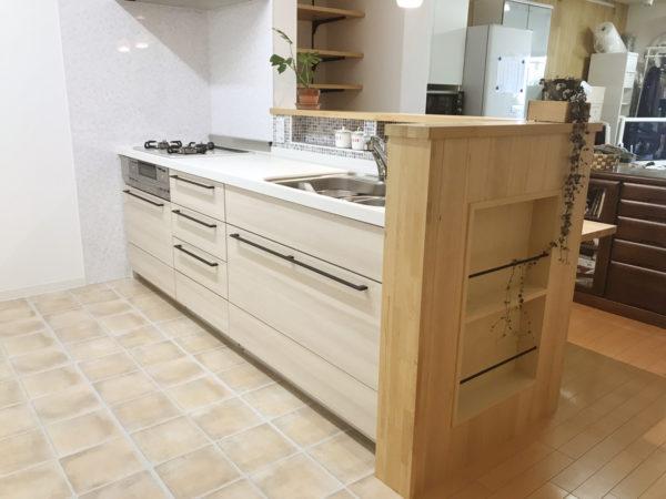 デザインにこだわったキッチンリフォームが完成しました!