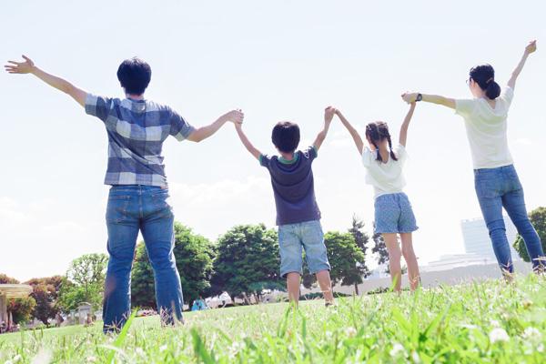 家族と一緒
