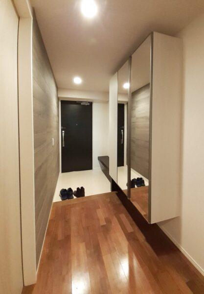 板橋区マンション玄関リフォーム