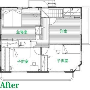 別役邸計画図面2F