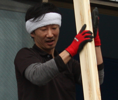 とても気さくな職人・池田さん。