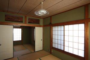 2階の和室(工事前)