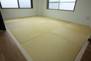 3F書斎にあるモダンな琉球畳