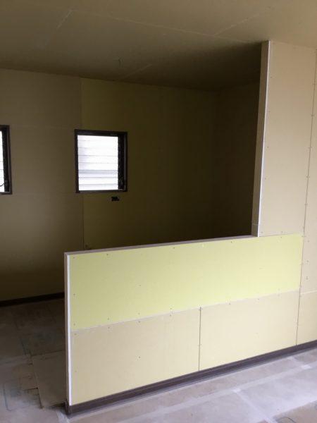 戸建2階3階・2世帯分離リフォーム工事進捗