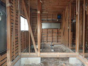 板橋区T様邸 木造戸建てスケルトン工事