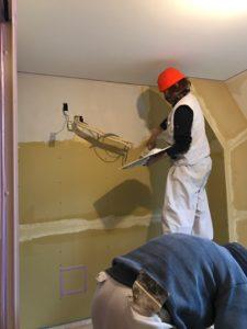 自然素材リフォーム シラスの塗り壁