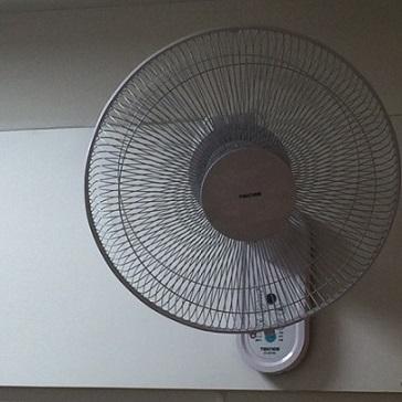 扇風機正面