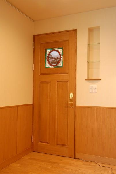 主寝室のドア