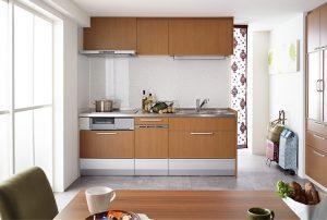 クリナップの壁付けキッチン