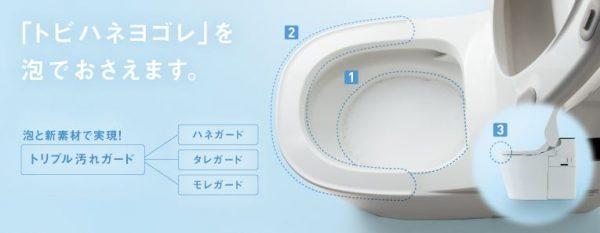おトイレ★尿のトビハネ問題について考えてみました