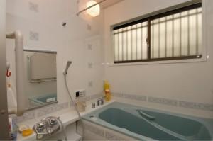 お風呂リフォーム後の全景