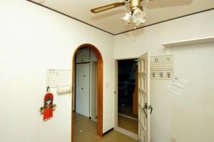 リフォーム前の子供部屋と寝室