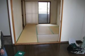 リフォーム前の6帖の和室