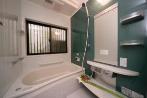 浴室リフォーム後の全景
