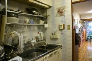 キッチンリフォーム前の流し台