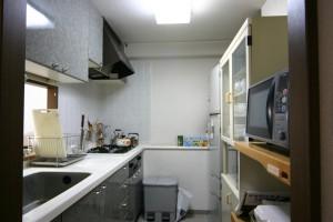 キッチンリフォーム前の全景