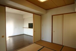 収納リフォーム前の和室