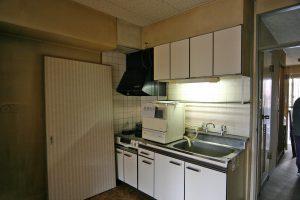 キッチンリフォーム前の台所