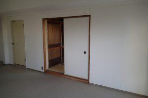 和室リフォーム前の和室入り口