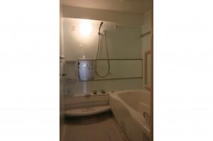 リフォームで広がった浴室