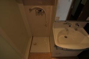 リフォームで新たに取り入れた洗濯機へのお湯取りシステム