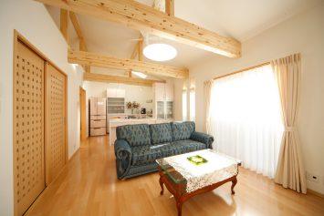 細かい部屋割りを大きくゆったりとした間取りにリフォーム 板橋区加賀