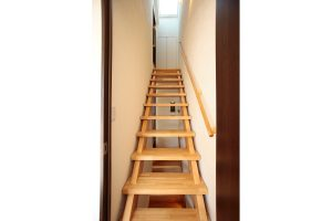 リフォーム後のロフトへの階段