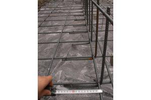 耐震リフォーム中 鉄筋敷設