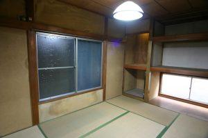 リビングリフォーム前の二階和室写真