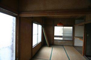 リビングリフォーム前の二階和室その2