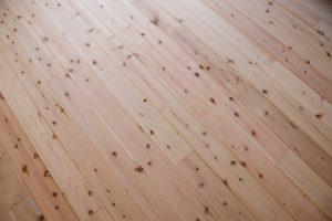 床に節ありの西川杉