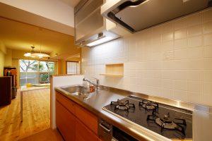 収納充実オーダーメイドのキッチンリフォーム 板橋区