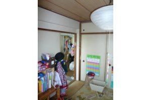 子供部屋リフォーム前の和室