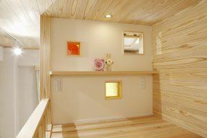 自然素材リフォーム 二段ベッド