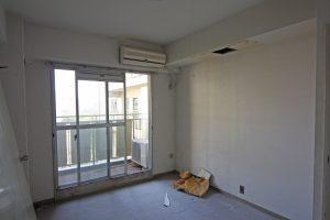 断熱リフォーム前の北側寝室