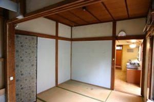 リフォーム前の1階和室写真