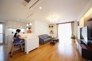 2世帯住宅スケルトンリフォーム