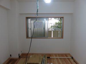 板橋区マンションリフォームでの内窓設置例