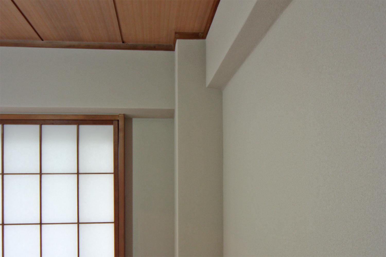珪藻土壁紙を貼った和室