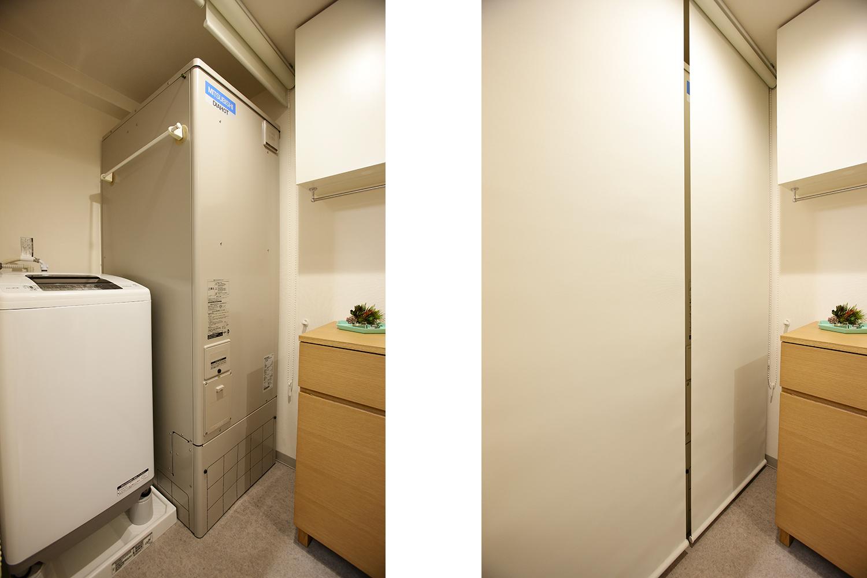 新しく交換した電気温水器