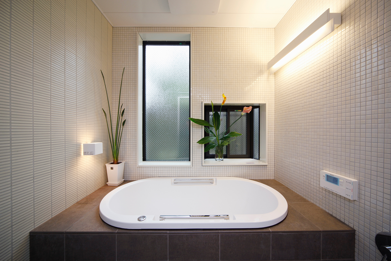 リフォーム後のスッキリとした浴室