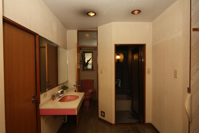 リフォーム工事前の浴室・トイレ・サニタリー