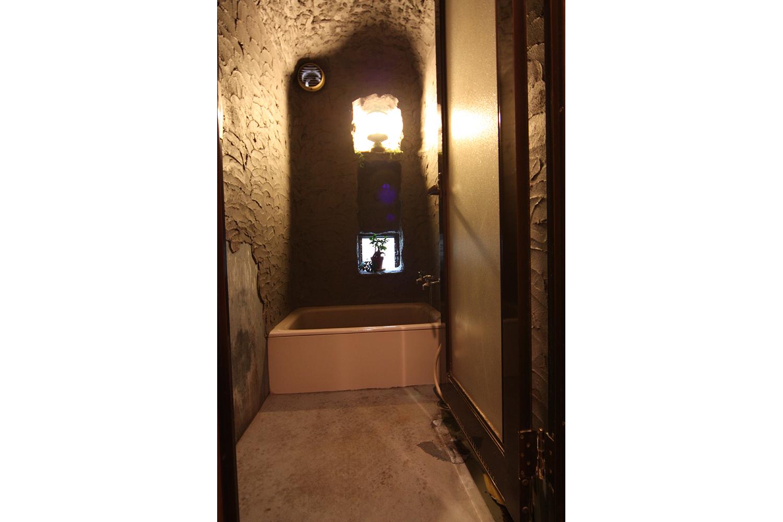 リフォーム前の洞窟のような浴室