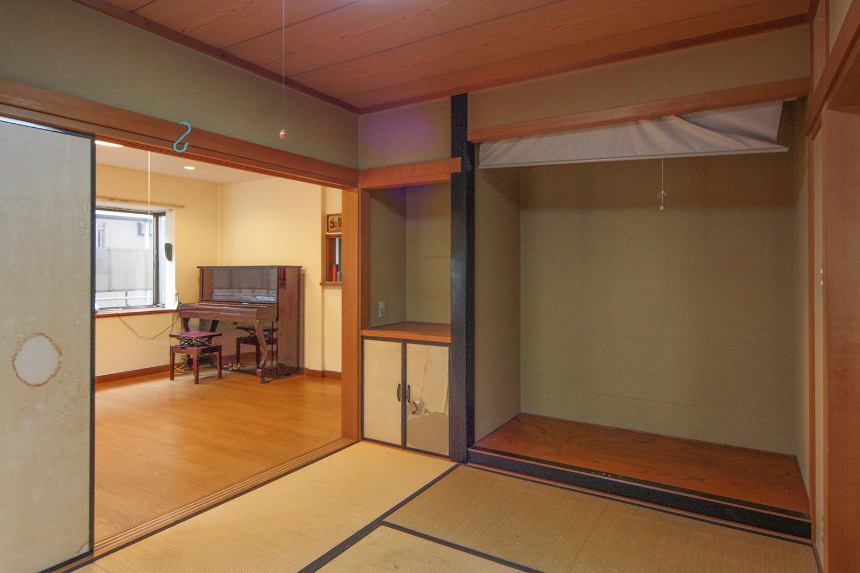 リフォーム前の和室