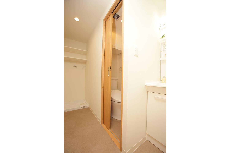 トイレの引き戸